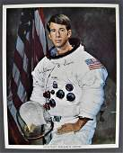 William Lenoir Signed Apollo Vintage Lithograph