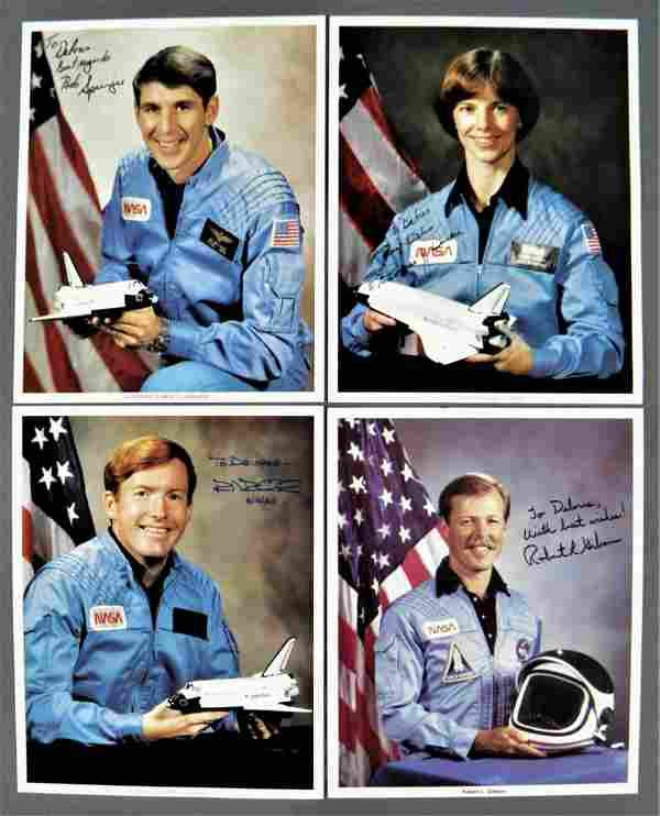 4 - Shuttle Astronaut Signed Lithographs