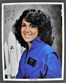 Judy Resnik Signed NASA Lithograph