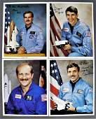 4 - Space Shuttle Astronaut Signed Lithographs