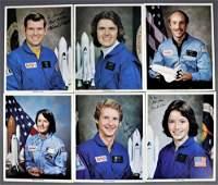 6 - NASA Astronaut Signed Lithographs
