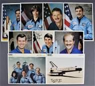 9 - Vintage NASA Signed Lithographs