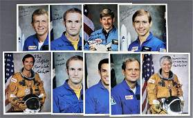 9 - Astronaut Signed Personalized Lithographs