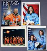 4 - Space Shuttle Astronauts Signed Items