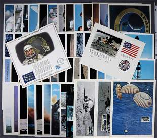 55 - Mercury through Apollo Lithographs