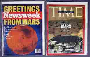 2 - Mars Pathfinder Signed Magazines