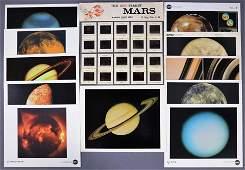 Mars & Beyond Lithographs & Color 35mm Slide Set