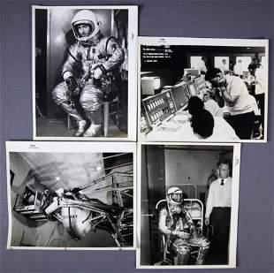 4 - Vintage & Numbered Mercury Program Photographs