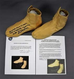 Apollo 1 Prototype Boots Signed