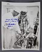 Gordon Cooper Signed Numbered Mercury Program