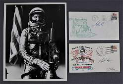 Gordon Cooper Mercury Astronaut Signed Items