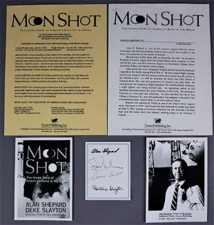 """""""Moon Shot"""" Signed Book Insert Card & More"""