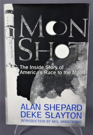 """Moon Shot"" Signed Hardback Book"