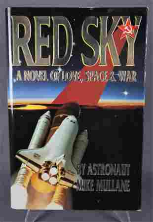 Red Sky Hand Signed First Edition Book