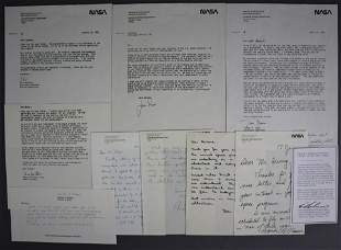 Astronaut Hand Written & Typed Letter Collection
