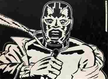 Gary Panter, 1970s, Punk Rock Cartoon