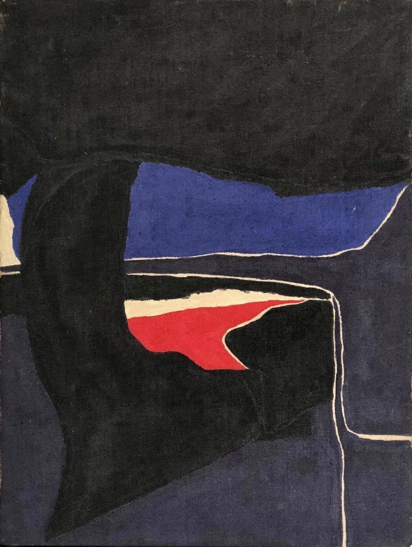Frank Hamilton, 1964 Post Painterly Abstraction