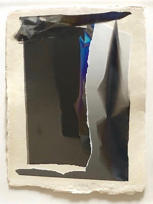 Larry Bell, 1990 Vapor Drawing