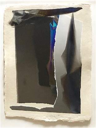 Larry Bell, 1990, Light and Space Vapor Drawing