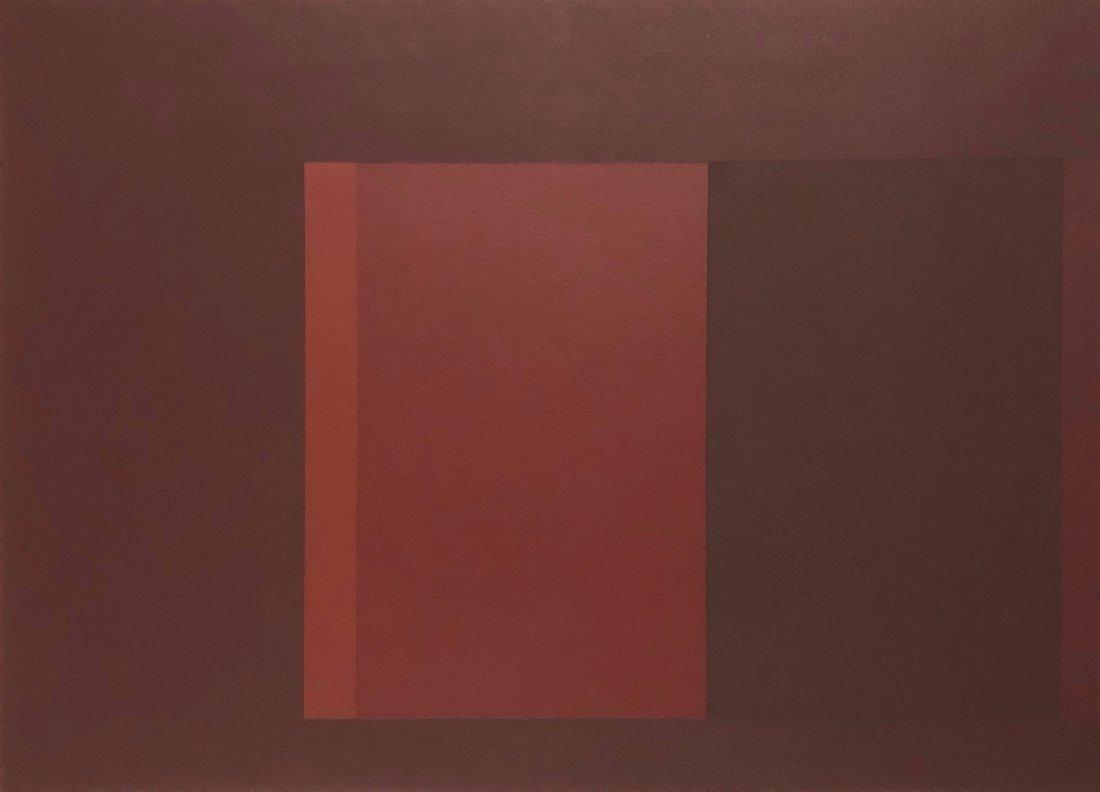 Richard Wilson, 1980s Hard-Edge Abstraction