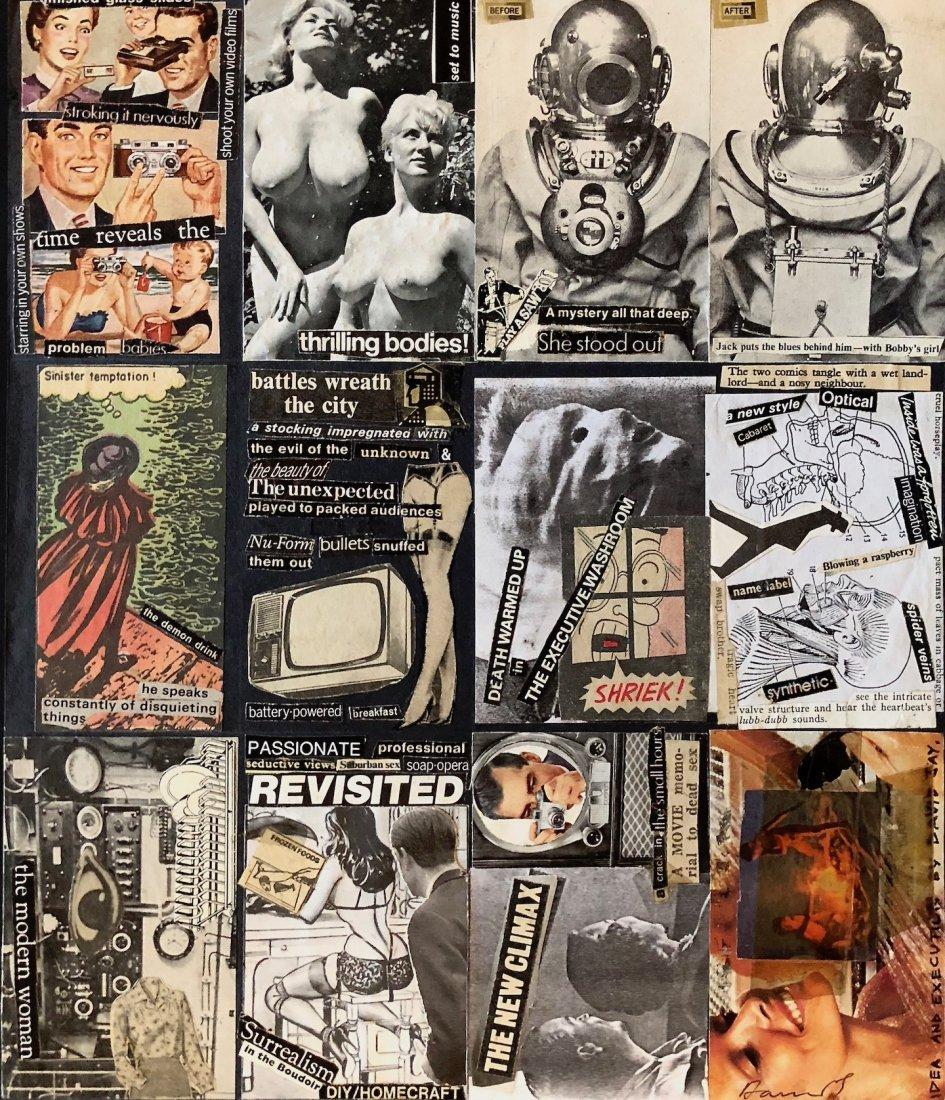 David J (David Jay Haskins), 1970s Neo Dada collage