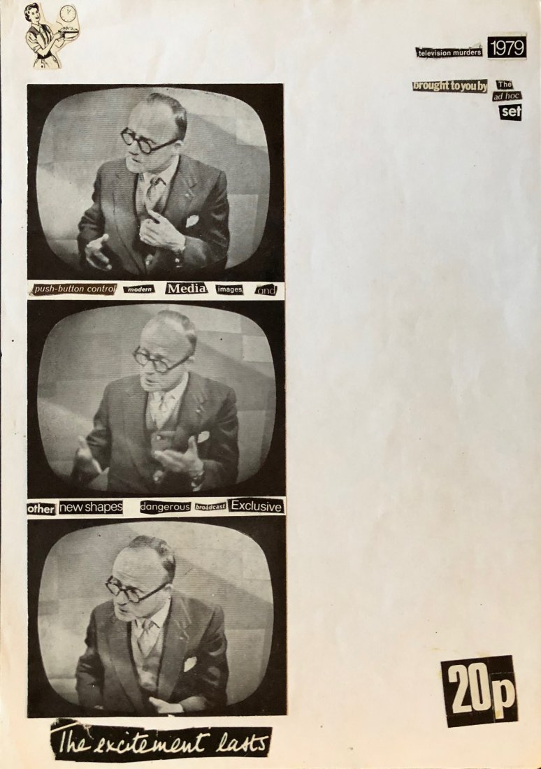 David J (David Jay Haskins) 1970s Post Punk Collage