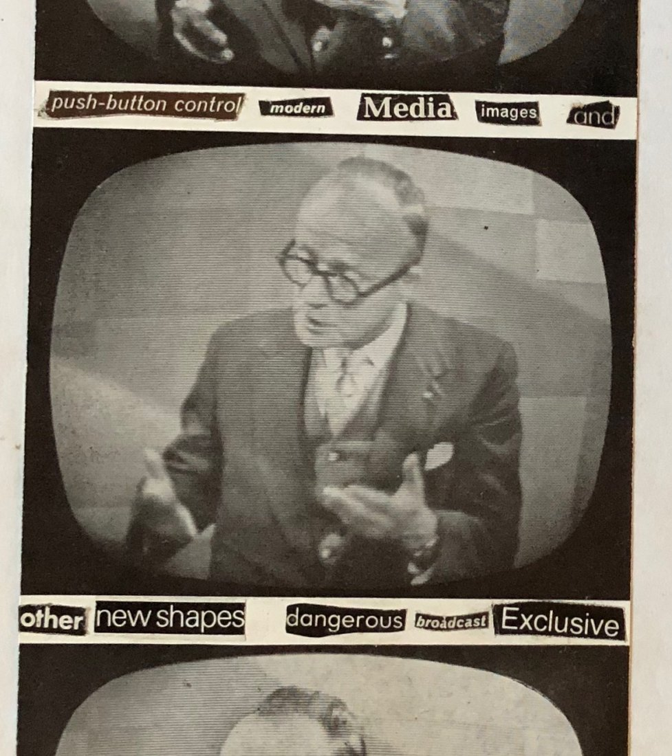 David J (David Jay Haskins) 1970s Post Punk Collage - 2