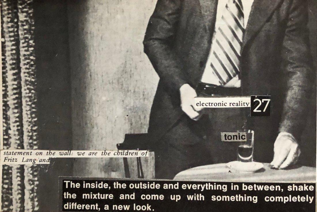 David J (David Jay Haskins) 1970s Post Punk Collages - 2