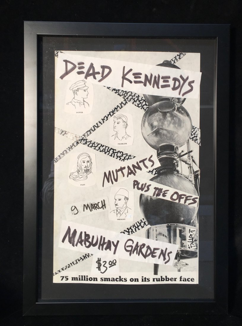 Winston Smith, Original Collage for Dead Kennedys Flyer - 2