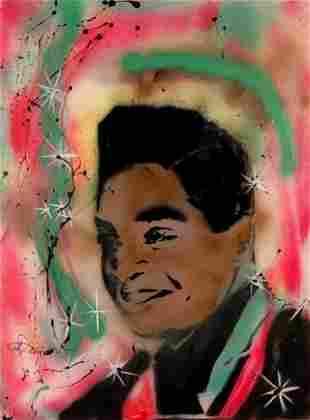 Scott Williams 1980s Stencil Street Art