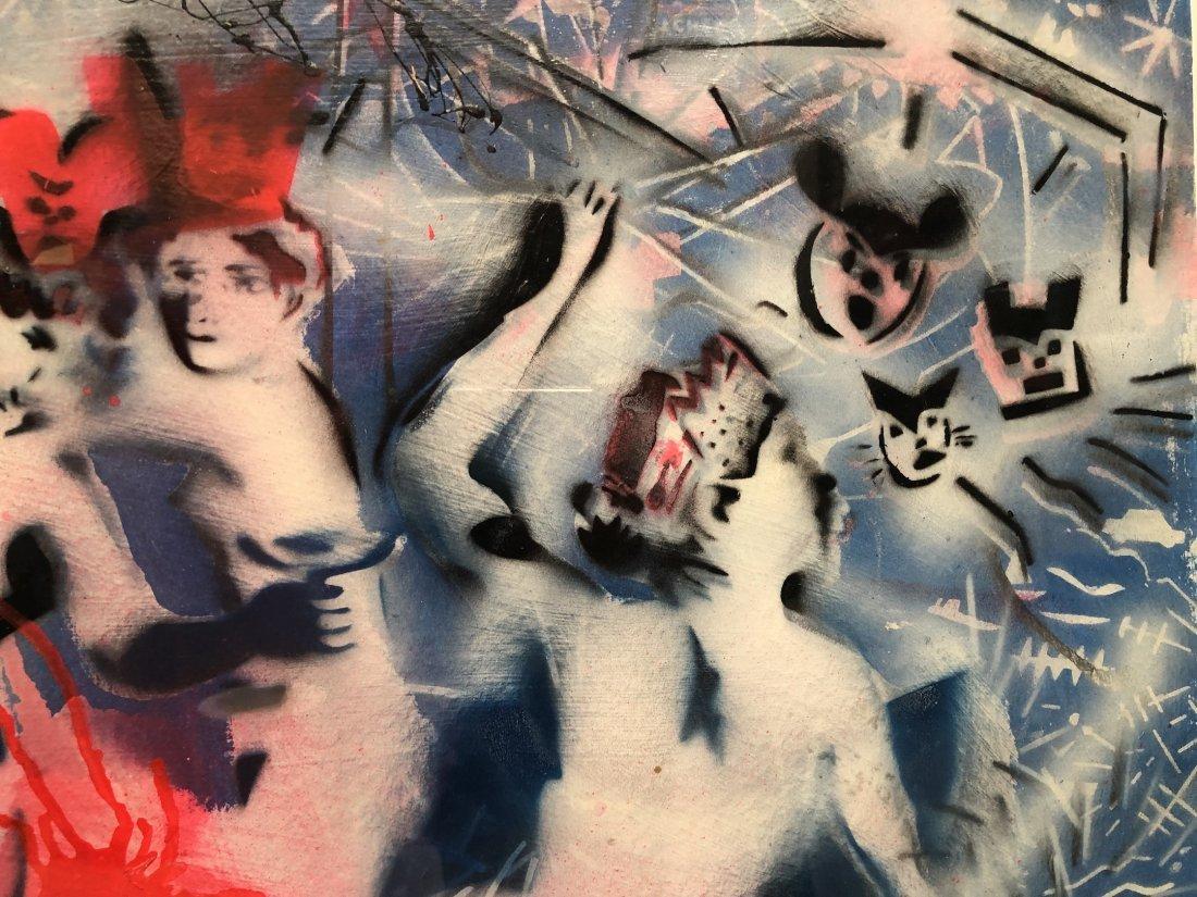 Scott Williams, 1980s Stencil Street Art - 3