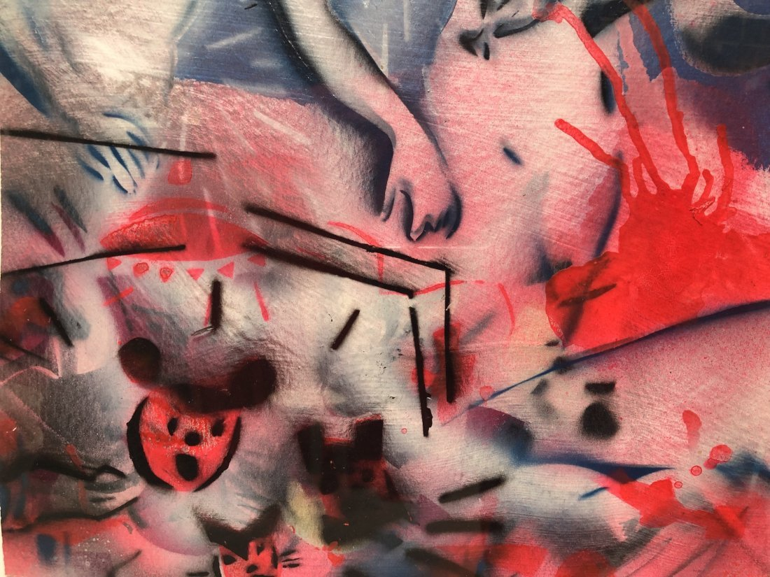 Scott Williams, 1980s Stencil Street Art - 4