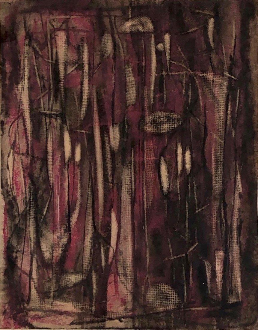Zahara Schatz, Early Abstract Drawing