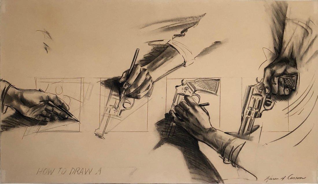 Karen Carson, 1975, How to Draw A Gun