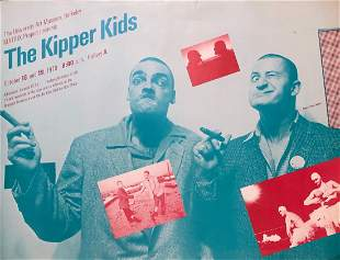 Kipper Kids 1979 Performance Poster