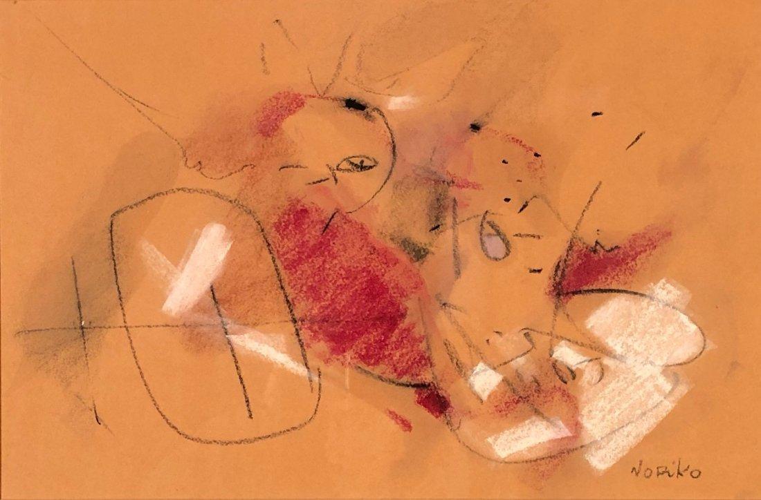 Noriko Yamamoto, Abstract Expressionism, 1950s-1960s