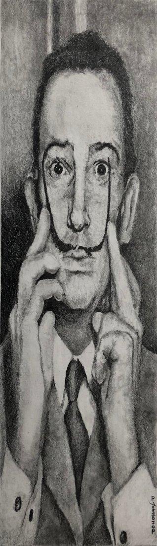 Aaron Johnson, Portrait of Salvador Dali