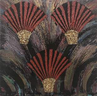 Merion Estes, 1980s Pattern and Decoration Painting