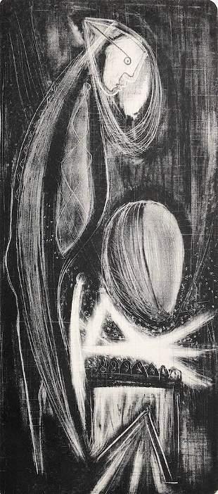 Charles Campbell, Rare 1940s San Francisco Abstract
