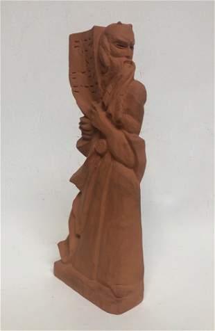 Bernard Zakheim, Coit Tower Muralist, Moses with Horns