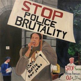 African American, Laboriae P. Smoore, 1990s Protest