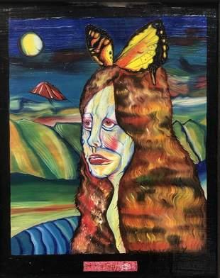 Outsider Art Bruce Fallon Smith The Honeymoon