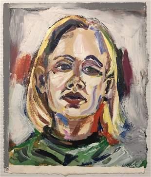 Meg Mack PostFeminist Portrait of a Blonde Girl