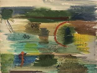 Blanche Phillips, Post-War Abstract Landscape