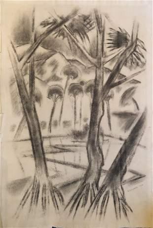 Robert Howard, 1928 Modernist Landscape