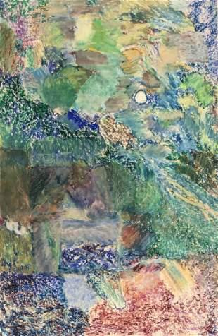 Abstract Pastel, Beat Artist Harry Jacobus
