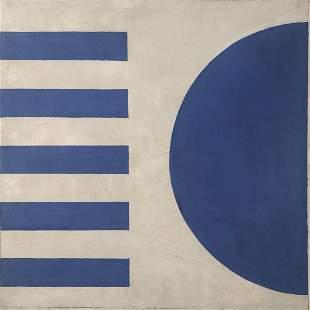 1960s Hard-Edge Abstract, Sumi Kawai