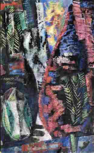 Erle Loran, 1950s-1960s Abstract