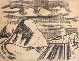 Erle Loran, Two 1930s Landscapes