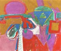 Patrick Tidd, 1960s Post Abstract Expressionism
